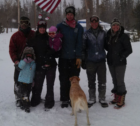 Dog Sled Ride Staff, 2013-2014
